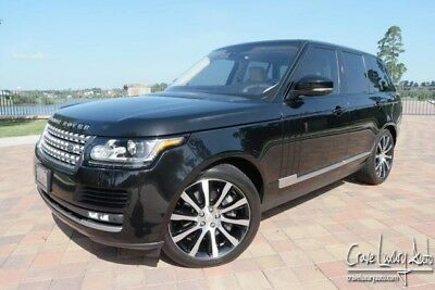 2016 Land Rover Range Rover  Range Rover HSE Supercharged V8 loaded leather premium Crave Luxury Auto.