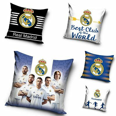 Official Real Madrid Team Ronaldo Decorative Cushion Cover Pillow Case Cotton