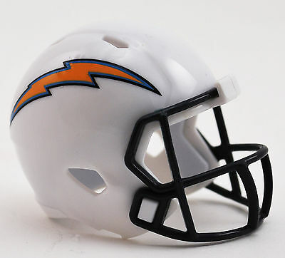 NFL American Football Los Angeles CHARGERS Riddell SPEED Pocket Pro Helmet LOOSE