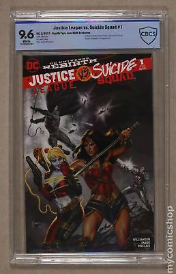 Justice League vs. Suicide Squad (2016) #1BMTB&W CBCS 9.6
