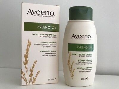 Aveeno bath and shower oil with collodial oatmeal - 250ml - BNIB!!