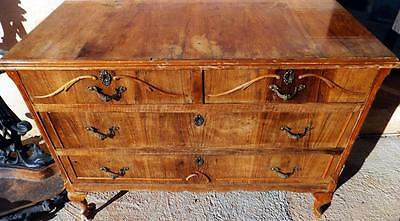 BAROCK ROKOKO KOMMODE NUSSBAUM ANTIK BAROQUE COMMODE 18 19 Jh 18th 19th