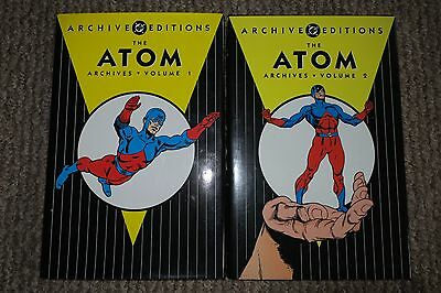 DC ARCHIVE EDITIONS - THE ATOM Vols. 1 & 2 - Great Condition