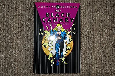 DC ARCHIVE EDITIONS - BLACK CANARY - Vol. 1 - Great Condition