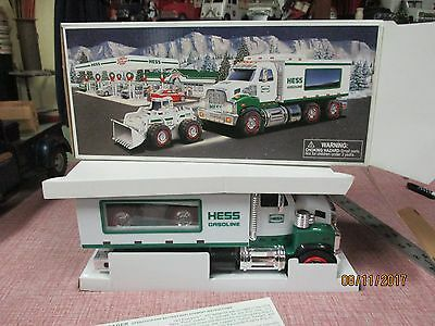 Hess Truck. 2008 With Front End Loader