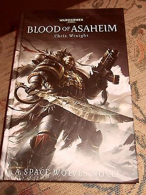 Warhammer 40k Blood of Asaheim by Chris Wraight Space Wolves (Hardback, 2013)