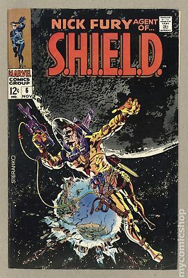 Nick Fury Agent of SHIELD (1968 1st Series) #6 FN- 5.5
