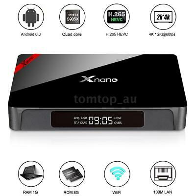 KM8P Android 7.1 Smart TV Box Amlogic S912 Octa Core 2G/8G 4K AirPlay Media H8Q6
