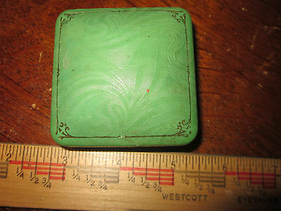 1900 P. Burkhardt Jeweler Cario Illinois Jewelry Box Holder Antique