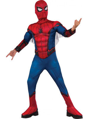 Child's Deluxe Boys Spider-Man Homecoming Webbed Costume