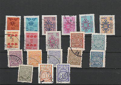 Turkey Mix canceled Postage Stamps Stamps Los Right 2586