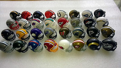 Nfl American Football Helmet Riddell Mini 1.5 Inch Pick 6 From 32 Available