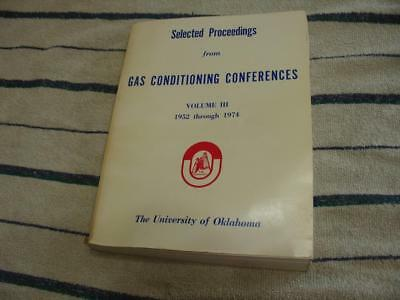 Gas conditioning conference Proceedings 1974