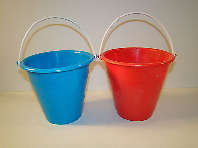 Lot of 2 Jell-O INSTANT PUDDING Buckets / Pails