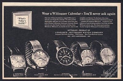 1967 Wittnauer Scuba-Matic diver diving watch Skipper etc photo vintage print ad