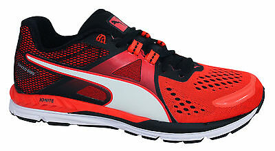 883de249ba3 Puma Ignite Speed 600 Lace Up Mens Blast Red Trainers Running Shoes 188517  06 P1