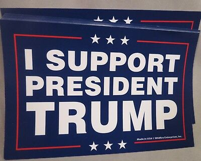 Wholesale Lot Of 20 I Support President Trump Campaign Sticker 2020 Usa Donald