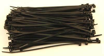 ATTACHE CABLES RILSAN 200x4.8 NOIRS - 200 COLLIERS PLASTIQUE