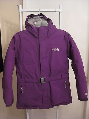 The North Face Girl's Purple Hyvent Goose Down 550 Winter Jacket Size Xl 18