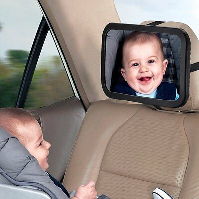 Back Seat Mirror Rear View Baby Car Seat Mirror with  Shatterproof Material NEW