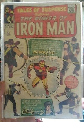 Tales Of Suspense #57, Cents, Iron Man, first Hawkeye