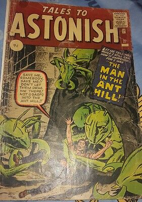 Tales To Astonish #27 Jan 1962 1St Appearance And Origin Of Ant-Man