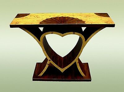 EXTRAVAGANT!! Art Deco Style Heart Shaped Console