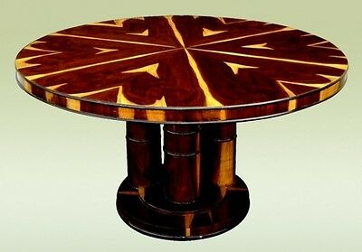 """UNBELIEVABLE  59"""" Art Deco Center Dining conference table"""