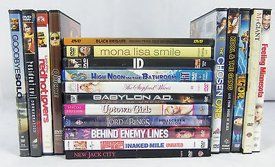 Lot of 20 DVD Movies Variety Comedy Family Action Adventure Children's Kids