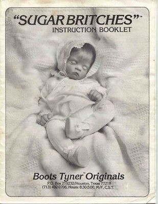"""""""Sugar Britches"""" doll body pattern and instructions."""