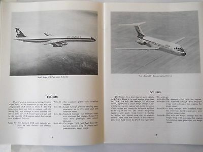 Airlines.....aircraft Photo Album, 40 Pages Of Different Aircraft With Details