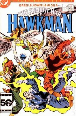 Shadow War of Hawkman (1985) #4 VG LOW GRADE