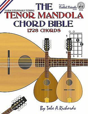 Tenor Mandola Chord Bible 1,728 Chords
