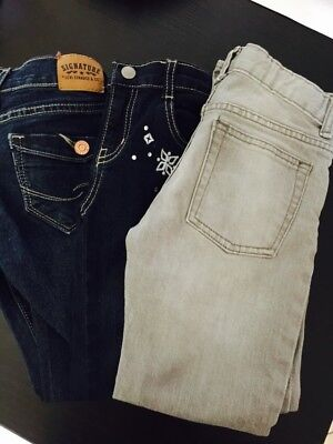 Lot Of 3 Girl's Size 7 8 Jeans GAP GYMBOREE LEVIS