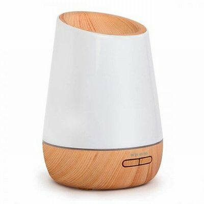 NEW 15W 4 in 1 Ultrasonic Aroma Diffuser 500ml with 2 Mist Modes - Light Wood