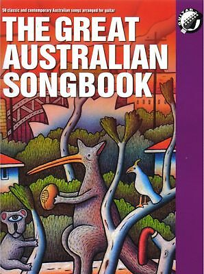 THE GREAT AUSTRALIAN SONGBOOK Guitar Book *NEW* Sheet Music 2016 Edition