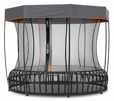 VULY THUNDER PRO TRAMPOLINE - X Large (inc FREE Shade Cover)