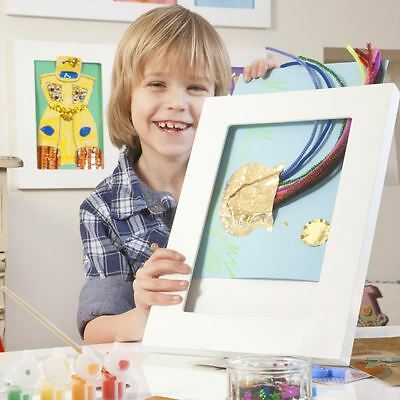 Articulate A4 Kid's Art Frame Single Picture Gallery A4 MDF Modern White Display