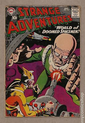 Strange Adventures (1950 1st Series) #104 GD+ 2.5 LOW GRADE