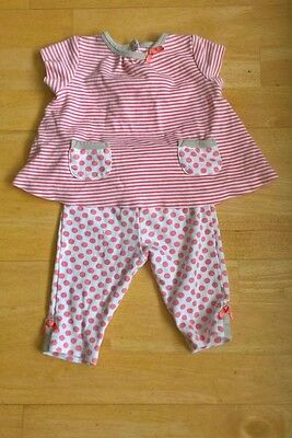 Offspring Baby Girls 2 piece Outfit Age 6 months