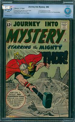Journey into Mystery # 86 1st app. of the Tomorrow Man !  CBCS 5.5 scarce book !