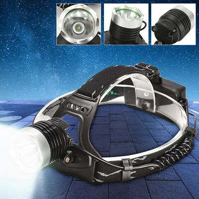 Elfeland 5000LM T6 LED Headlight Headlamp Rechargeable Head Light Lamp Torch