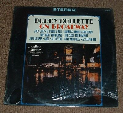 BUDDY COLLETTE on broadway 1965 US SURREY STEREO LP STILL SEALED