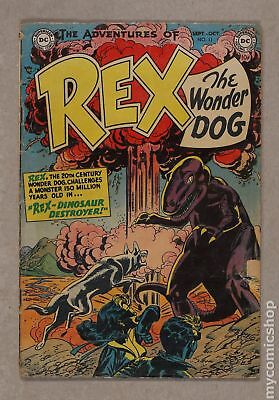Adventures of Rex the Wonder Dog (1952) #11 GD 2.0