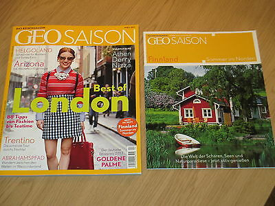 Geo Saison 4/2017 - Das Reisemagazin -Best Of London/helgoland + Xtra-April 2017