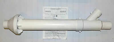 "2"" Concentric Vent Kit High Efficiency Gas Furnace Exhaust System Kgavt0501Cvt"