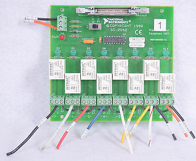 National Instruments Relay Circuit Board SC-2062 FREE SHIPPING