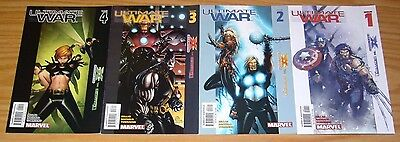 Ultimate War #1-4 VF/NM complete series MARK MILLAR ultimate x-men CHRIS BACHALO