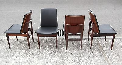 Stylish Set Of 4 Vintage Eon Elliots Of Newbury Chairs    Delivery Available
