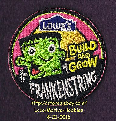 LMH Patch  TEN (10) 2009 FRANKENSTRING Monster Build Grow LOWES Kids Clinic  LOT